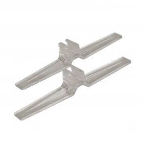 1 Paar Rahmenaufsteller RA1, transparent