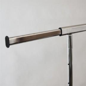 Klappbarer Kleiderständer , B = 100 cm, verchromt