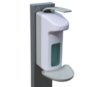 Hygieneleichtbaustation Légère RAL 9006 130cm Höhe