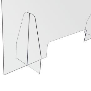 Spuckschutz mit Durchreiche 1000x600mm Acrylglas