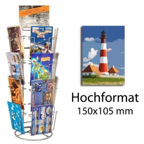 Kartenständer mit 20 Fächern 105x150